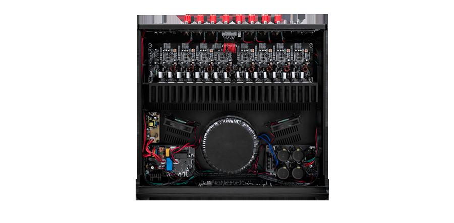 Power ampli Emotiva BasX A-800 tot