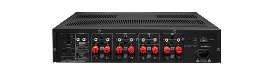 Power ampli Emotiva BasX A-800 dep