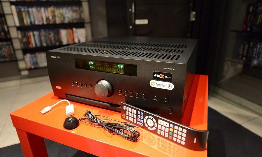 Sự lựa chọn thông minh cho không gian nghe nhạc gia đình: Ampli Arcam FMJ AVR550