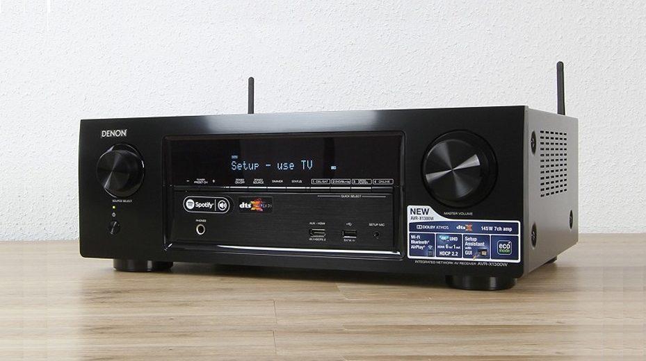 Bộ khuếch đại âm thanh ấn tượng đến từ mẫu Ampli Denon AVR-X1300W