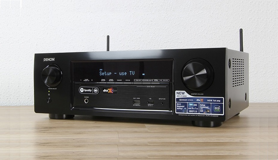 Ampli Denon AVR-X1300W chat