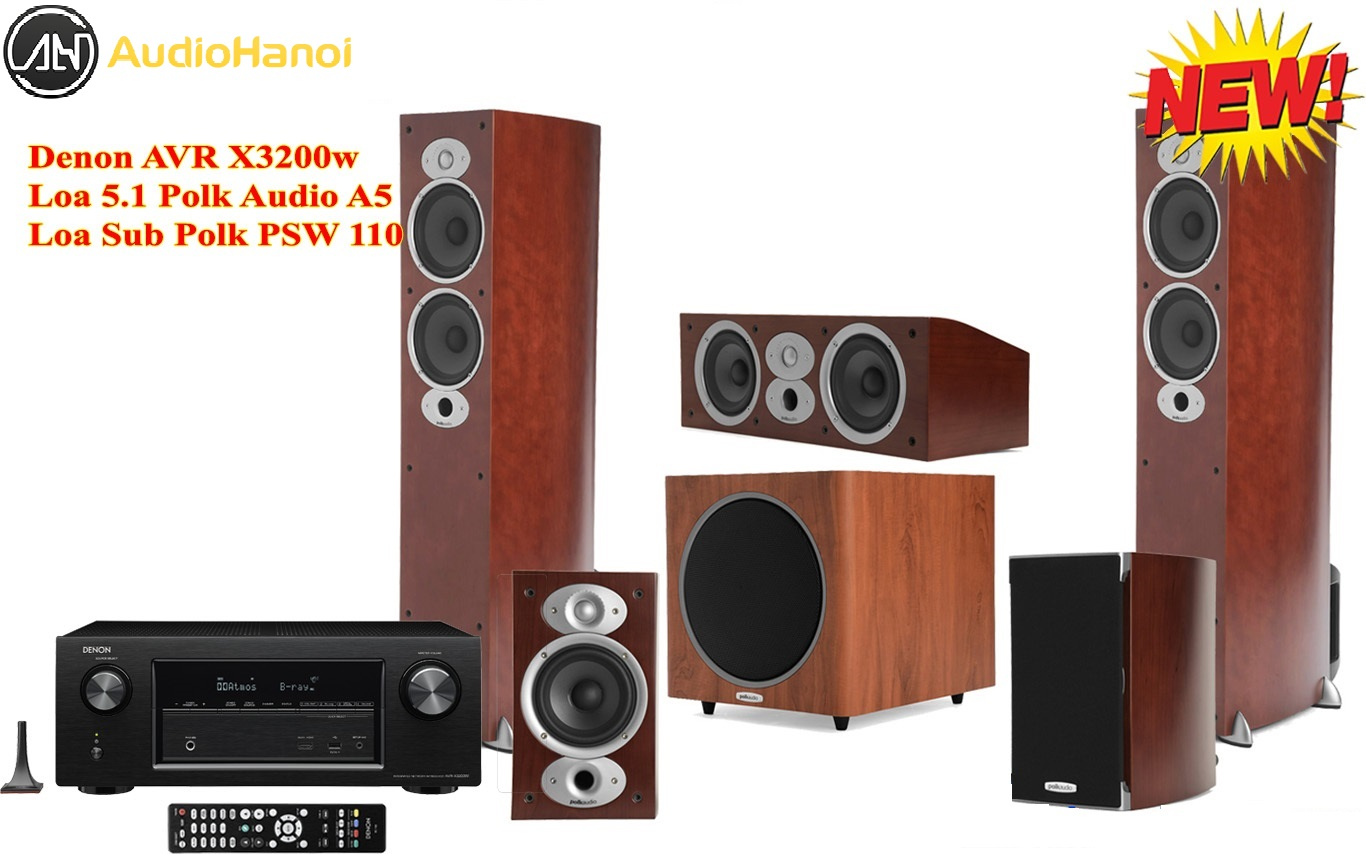 Ampli Denon AVR-X3200W dep