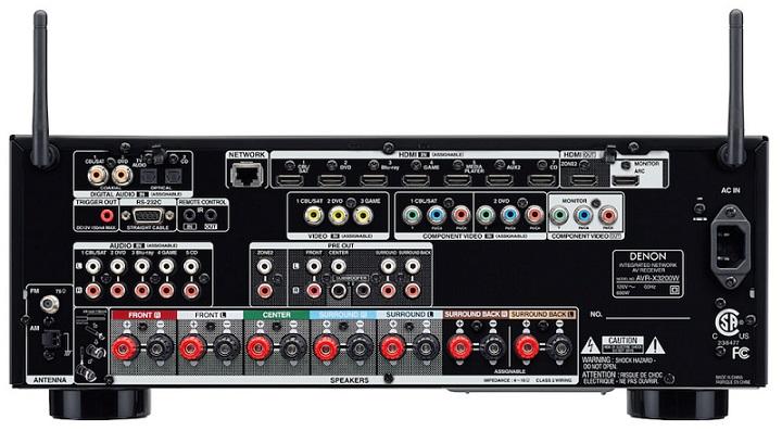 Ampli Denon AVR-X3200W mat sau