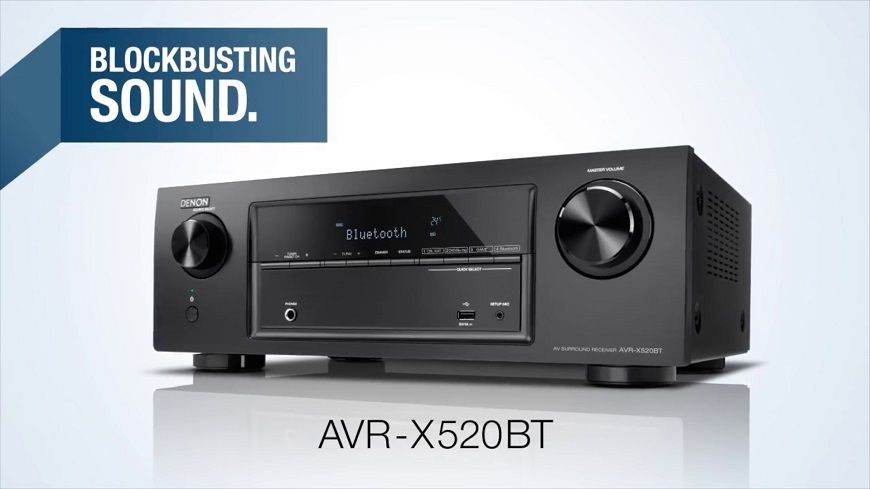 Ampli Denon AVR-X520BT chat