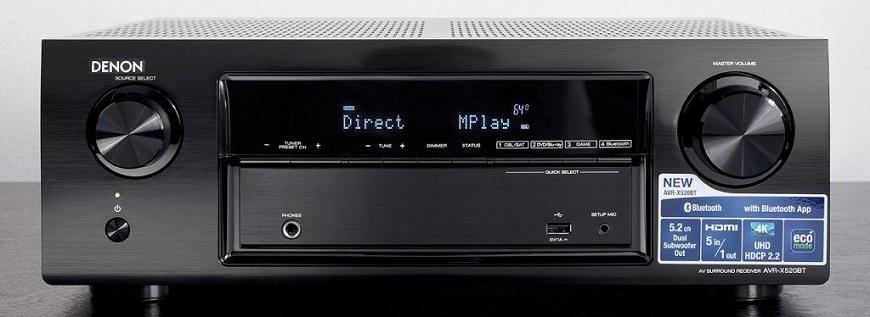 Ampli Denon AVR-X520BT