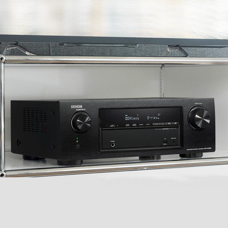 Ampli Denon AVR-X520BT dep
