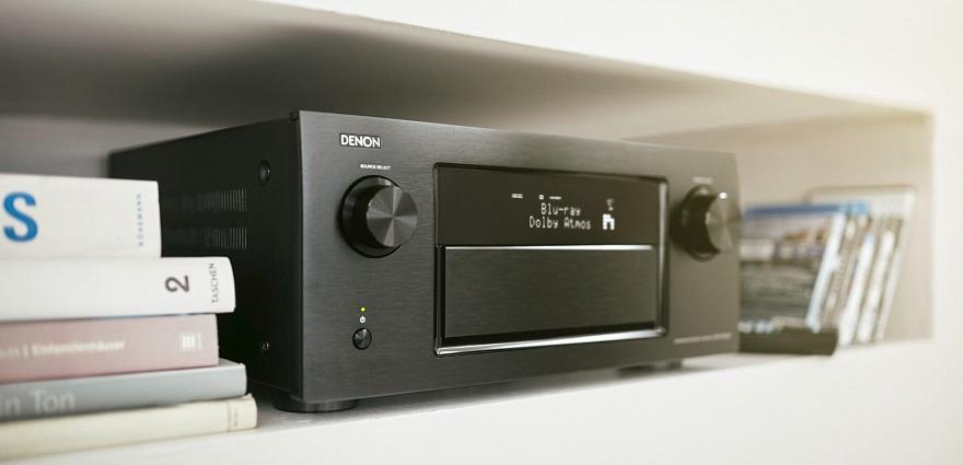 Ampli Denon AVR-X7200WA mang âm thanh mạnh mẽ lan tỏa phòng nghe