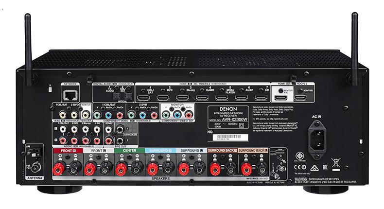 Ampli Denon AVR-X2300W mat sau