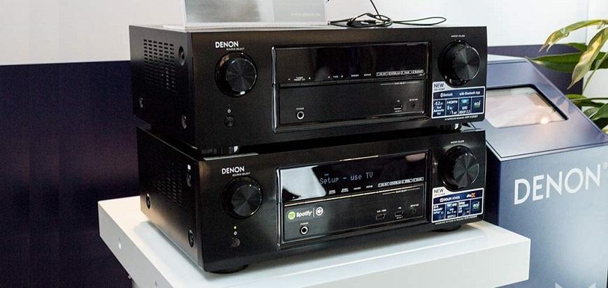 Ampli Denon AVR-X520BT tot