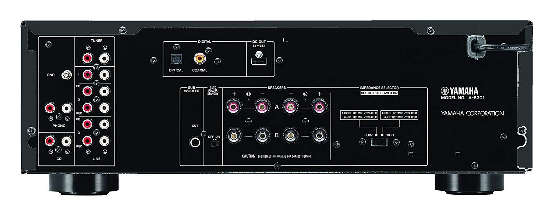ampli Yamaha A-S301 mat sau
