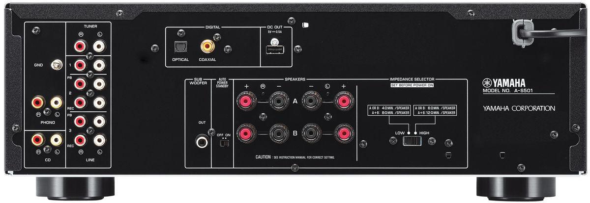 Ampli Yamaha A-S501 mat sau