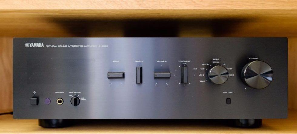Ampli Yamaha A-S501: Phiên bản thu nhỏ của ampli Yamaha A-S500
