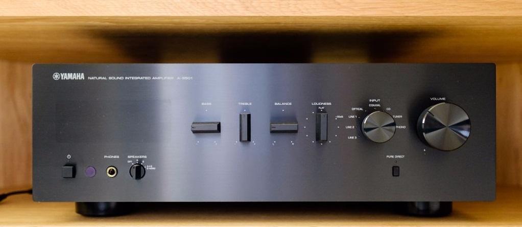 Ampli Yamaha A-S501 chat