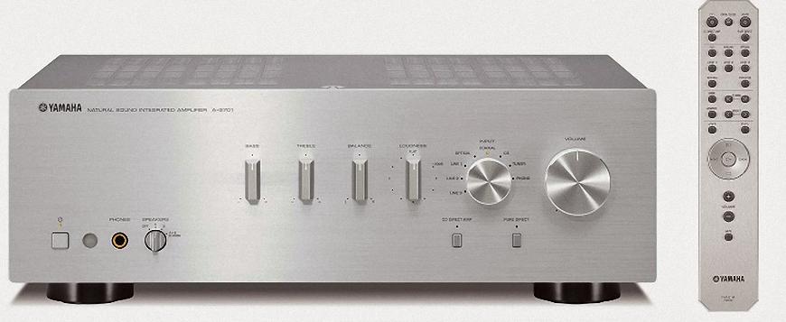 Khám phá mẫu ampli Yamaha A-S701 tích hợp hai kênh của Yamaha