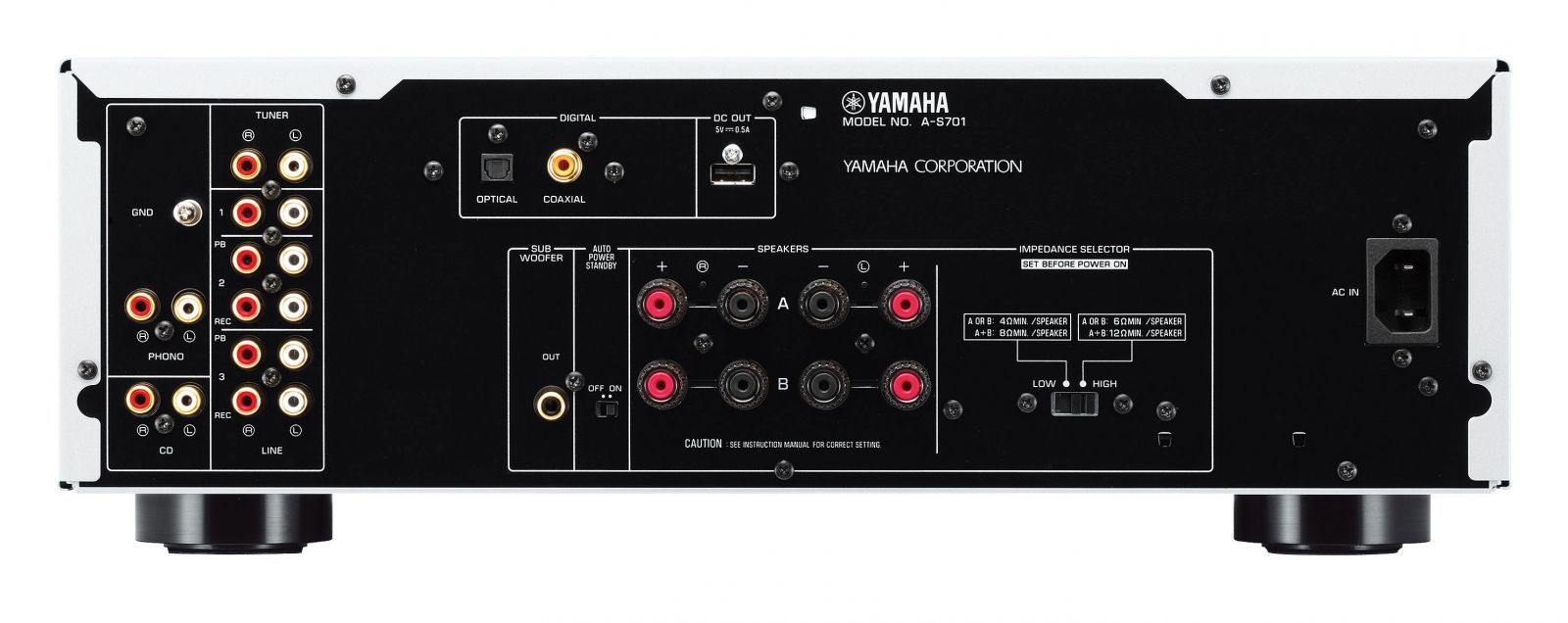 ampli Yamaha A-S701 mat sau