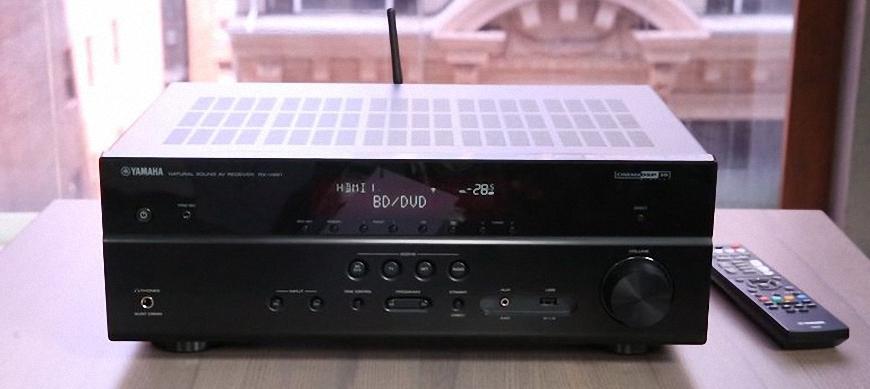 Khám phá mẫu ampli Yamaha RX-V481 tích hợp giá tốt của Yamaha