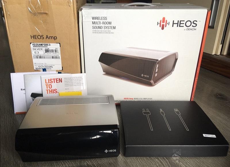 Ampli denon HEOS Amp Wireless chat