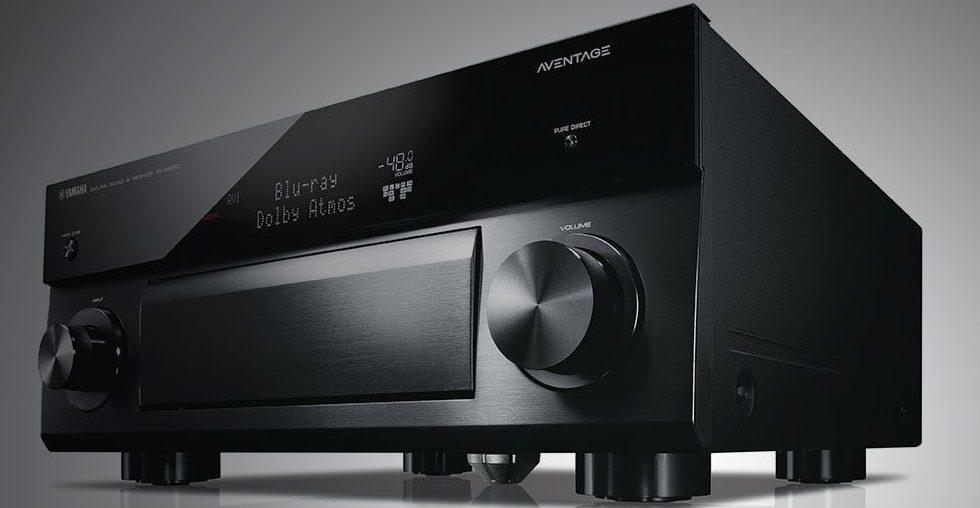 Không gian xem phim sống động với sự góp mặt của mẫu ampli Yamaha RX-A2060