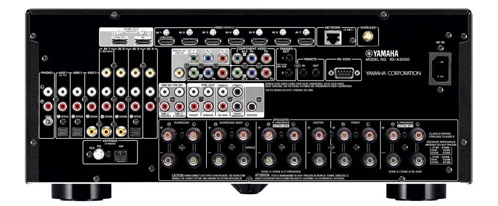 Ampli Yamaha RX-A3060 mat sau