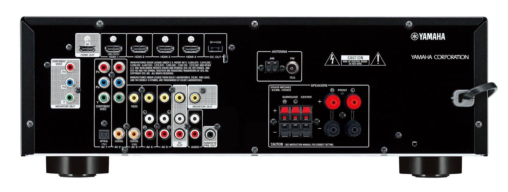 Bo dan Yamaha 5.1 YHT-2910 mat sau