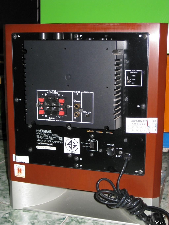 Loa Yamaha YST-SW325 mat sau