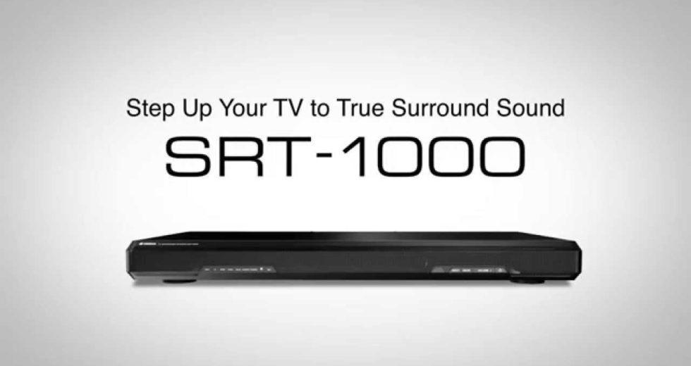 Loa soundbar Yamaha SRT-1000: Mảnh ghép bổ sung hiệu ứng âm thanh vòm