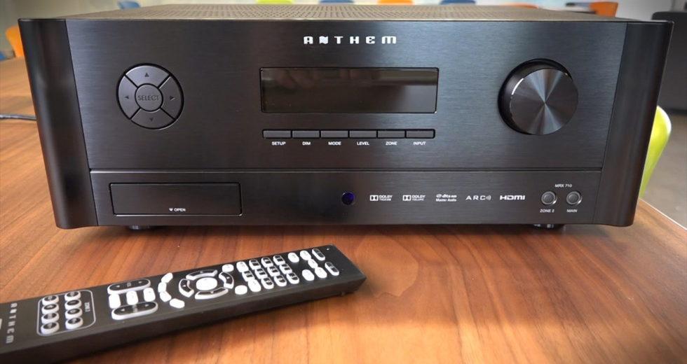 Sự lựa chọn đáng tin cậy của người chơi âm thanh: Ampli Anthem Performance MRX 720