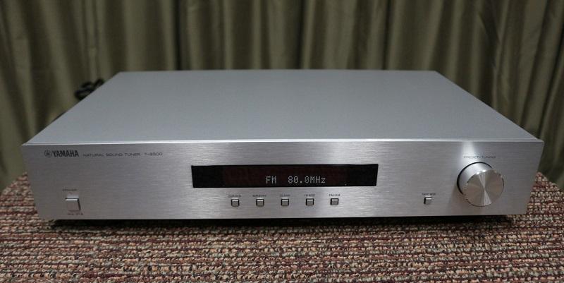 Công nghệ nhạc số trở nên hấp dẫn hơn với sự góp mặt của mẫu tuner Yamaha T-S500