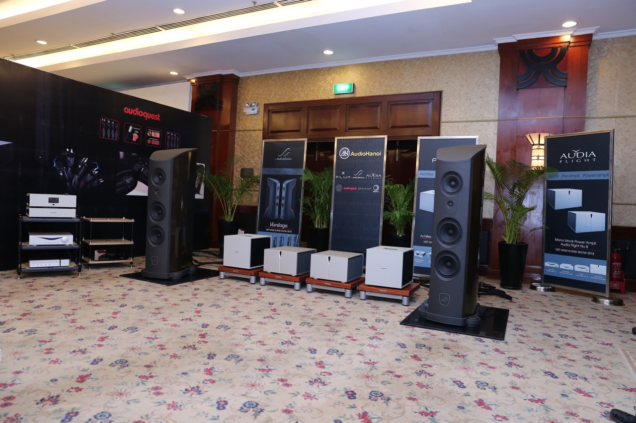 Vietnam Hi-end Show 2018 can canh