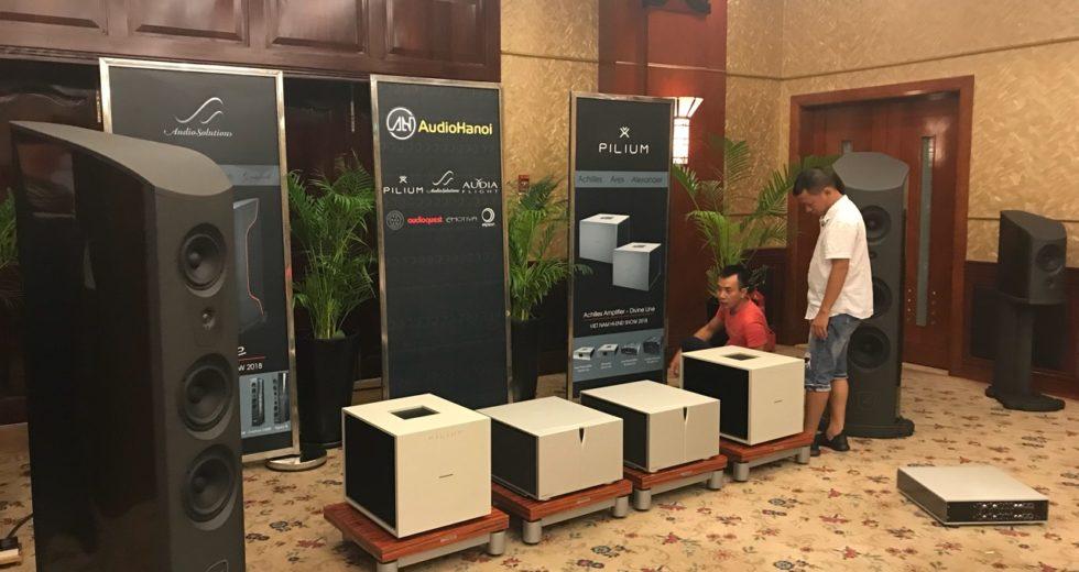 [Vietnam hiend show 2018] Ngắm loạt sản phẩm của AudioSoultions được Audio Hà Nội mang tới triển lãm Vietnam Hi-end Show 2018 Tp.HCM