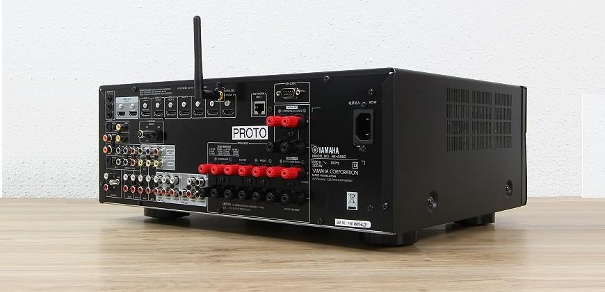 ampli Yamaha RX-A860 mat sau