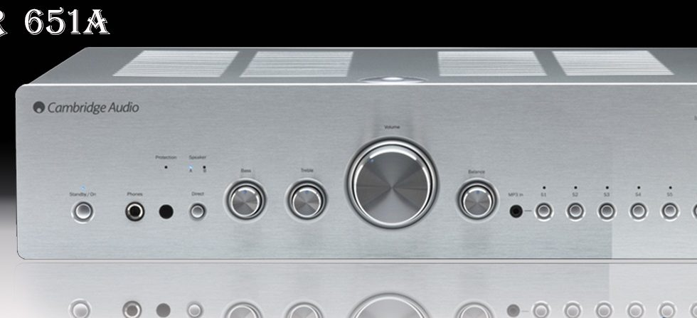 Ampli Cambridge Azur 651A dễ dàng phối ghép, dễ set-up