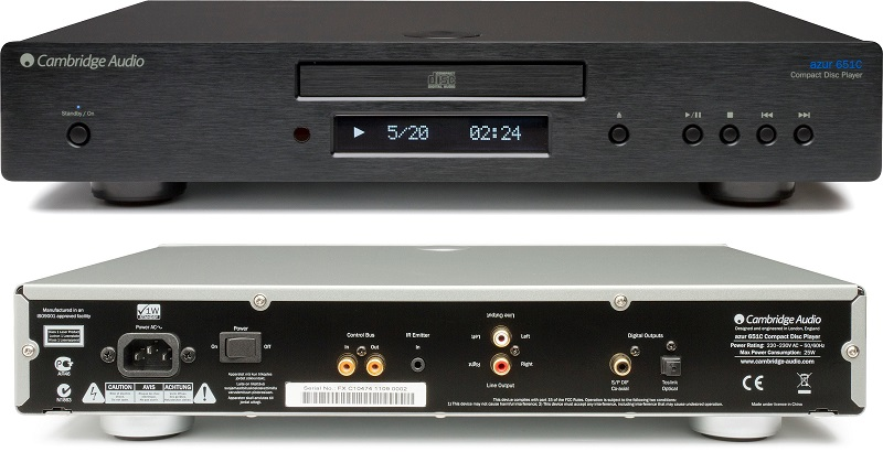 dau CD Cambridge Azur 651C
