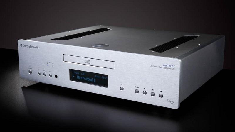 Đầu CD Cambridge Azur 851C tích hợp DAC cho tốc độ giải mã ấn tượng