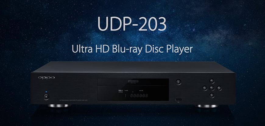 Trải nghiệm chất lượng âm thanh ấn tượng từ mẫu đầu blu-ray Oppo UDP-203