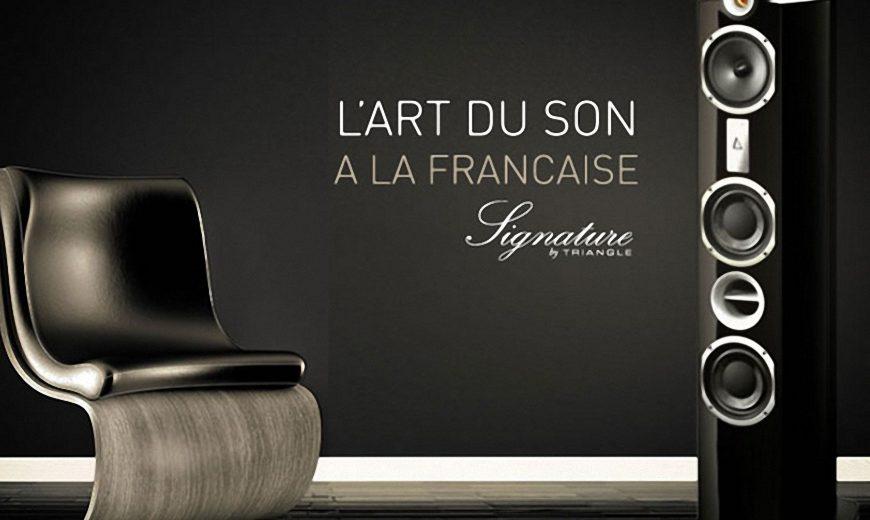 Khám phá mẫu loa Triangle Signature Enceinte Delta chính hãng của Triangle – Pháp