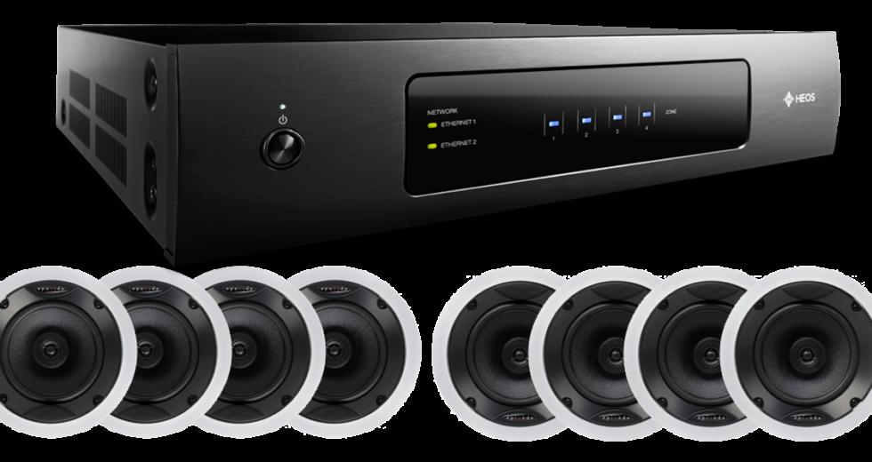 Ampli Denon Heos Drive Streaming: Mẫu ampli hiện đại và thanh lịch