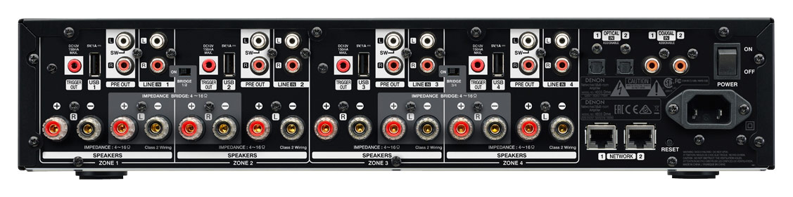 Ampli Denon Heos Drive Streaming mat sau