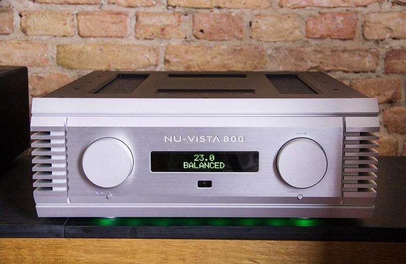 Hiệu suất âm thanh mạnh mẽ của ampli Musical Nu-Vista 800