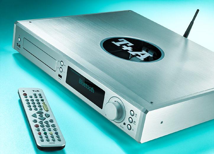 Thiết kế nhỏ gọn đơn giản của đầu CD T+A MP 2000 R MKII