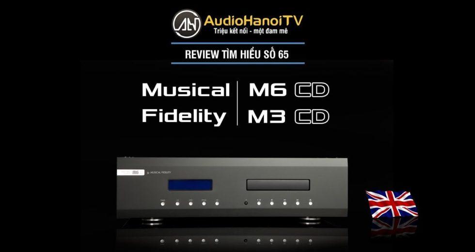 Đầu CD tiện ích Musical M6 SCD đến từ thương hiệu Anh