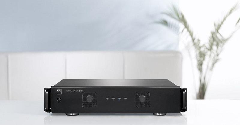 Thiết kế gắn liền với sự hiện đại: Power ampli NAD CI 980