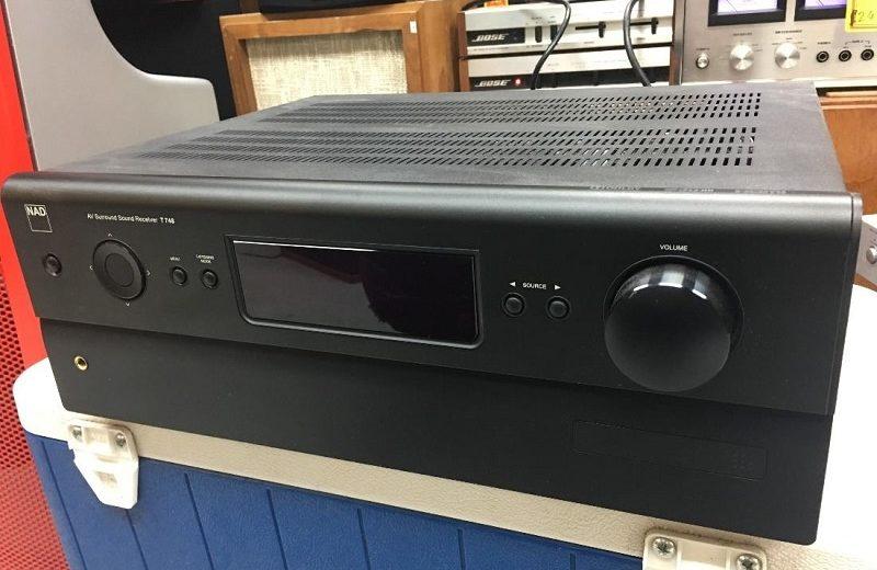 Đánh giá bộ khuếch đại âm thanh mạnh mẽ đến từ mẫu ampli NAD T 748