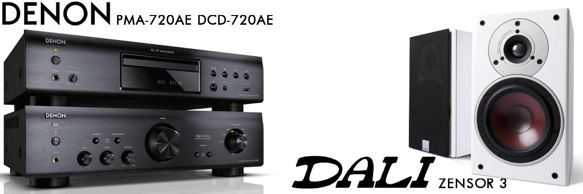 dau CD Denon DCD-720AE