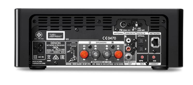 dau CD Denon RCD-N9 dep