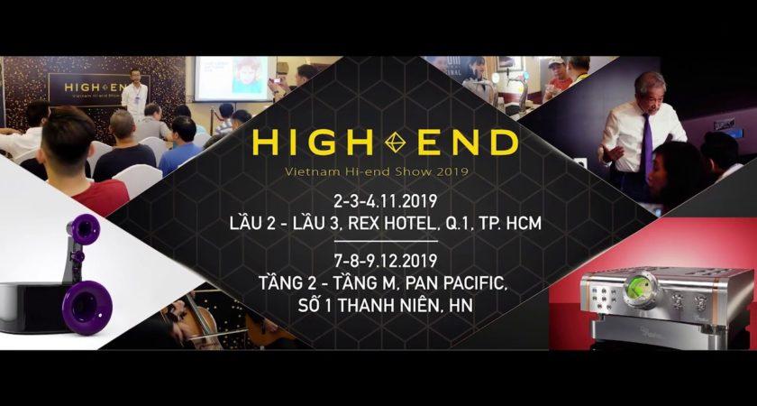 """Những """"bật mí"""" nhỏ trước giờ G diễn ra Vietnam Hi-end Show 2019"""