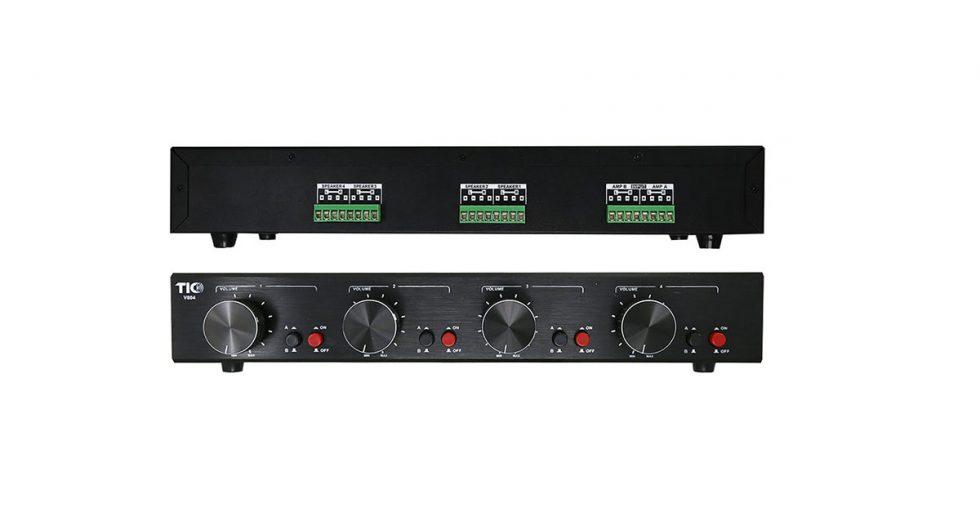 Ampli TIC V804 – Vị nhạc trưởng trong những hệ thống âm thanh đa phòng